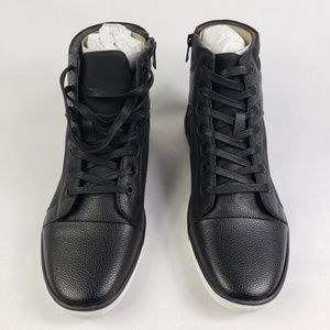 Mens Kenneth Cole Crown Worthy High Top Sneakers